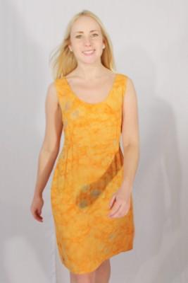Klänning Eleanor-orange