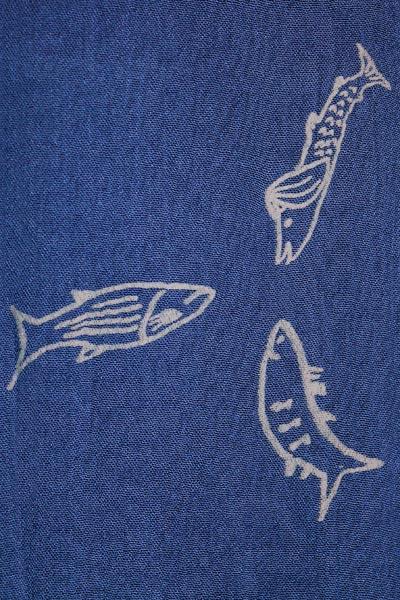 Fiskar, marinblå