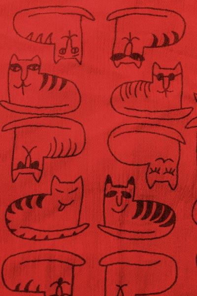 Katter, röd